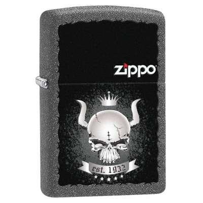 Зажигалка Zippo Skull Crown 28660