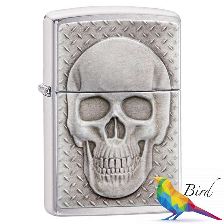 Фото Зажигалка Zippo Skull with Brain Surprise 29818 | Интернет магазин Bird.in.ua