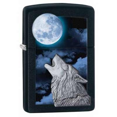 Зажигалка Zippo Howling Wolf 28879