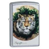 Зажигалка  Zippo SPAZUK Tiger 49090