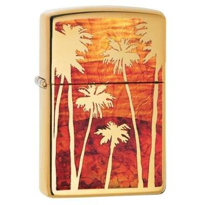 Зажигалка Zippo Fuzion Palm Tree Sunset 29420