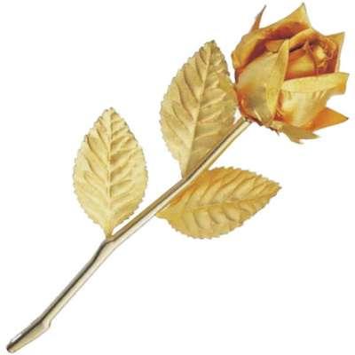 Золотая Роза Golden в подарочной коробке 702 HB