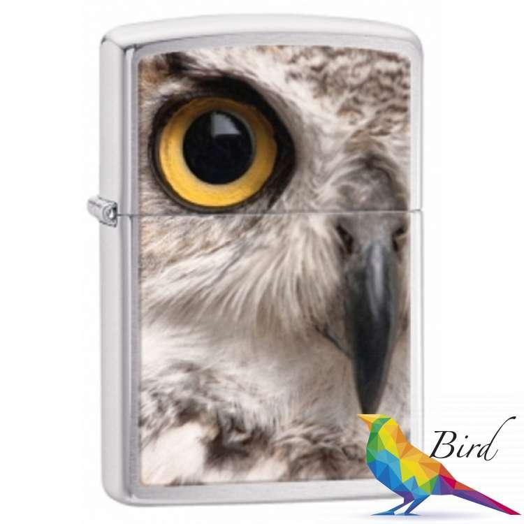 Фото Зажигалка Zippo Owl Face 28650 | Интернет магазин Bird.in.ua